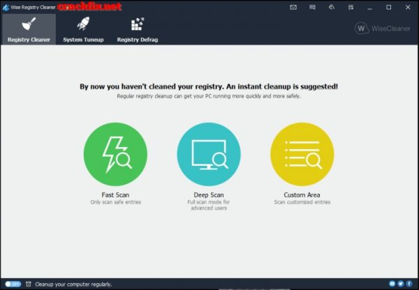 Wise Registry Cleaner 10.24 Crack with Full Key 2019 Free Download