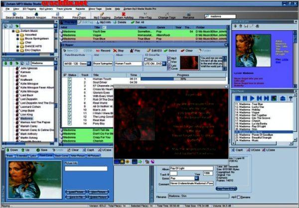Zortam Mp3 Media Studio 25.30 Crack +Serial Key Download [Win+Mac]