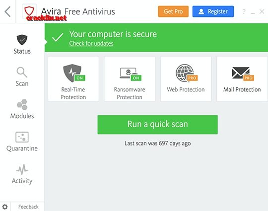 Avira Free Security Suite 2020 1.0.35.11288 Crack + Keygen {Updated}