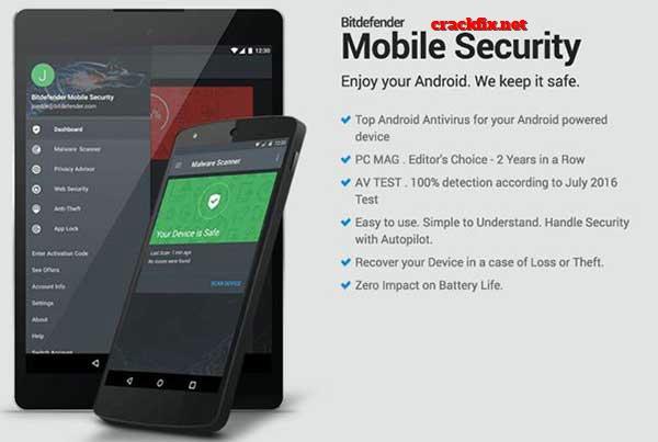 Bitdefender Mobile Security 3.3.112.1502 Crack & Patch Download 2020