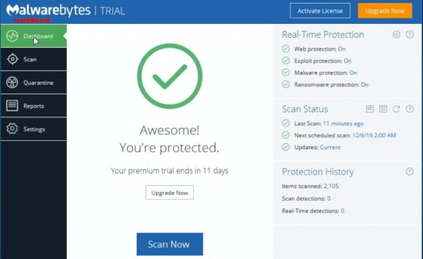 Malwarebytes Anti-Malware 3.8.3.2965 Crack Full Premium Download