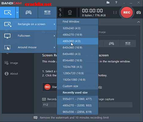 Bandicam Screen Recorder 4.6.3 Build 1725 Crack + Serial Keygen 2020