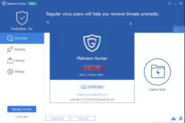 Glarysoft Malware Hunter 1.85.0.671 Crack + Serial Key 2020 Download