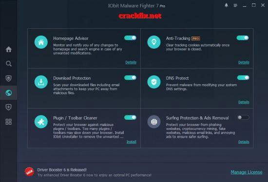 IObit Malware Fighter Pro 8.1.0.655 Crack + Premium For Mac/Windows