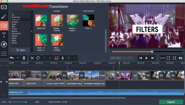 Movavi Video Editor 15.4.1 Crack + Activation Key  2020 Free - [Latest]