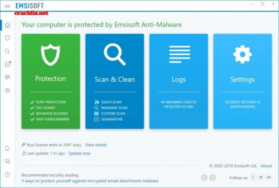 Emsisoft Anti-Malware 2020.9.0.10390 Crack + Serial Number Download