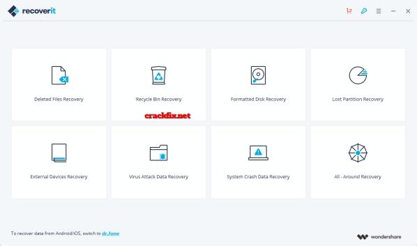 Wondershare Recoverit 8.1.2.8 Crack + Registration Code 2019 [Torrent]