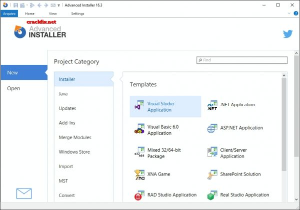 Advanced Installer 16.3 Crack + Patch 2019 Free Download [Updated]