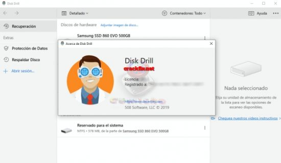 Disk Drill Pro 4.0.521.0 Crack + Activation Code 2019 Full Version [Mac+Win]