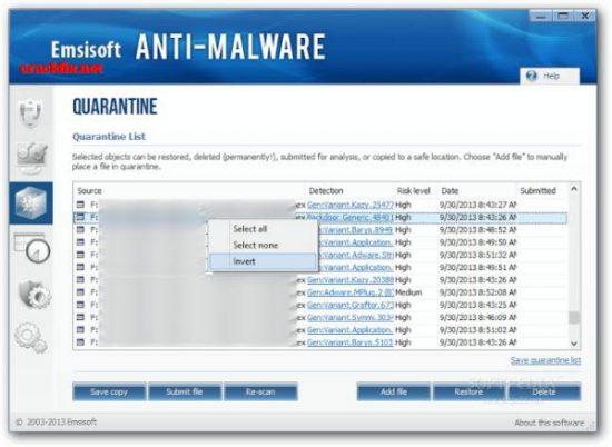 Emsisoft Anti-Malware 2020.6.0.10209 Crack + Serial Key 2020 [Mac+Win]