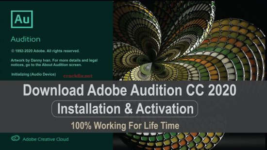 Adobe Audition 2020 Crack Full Version Free Download [Latest]