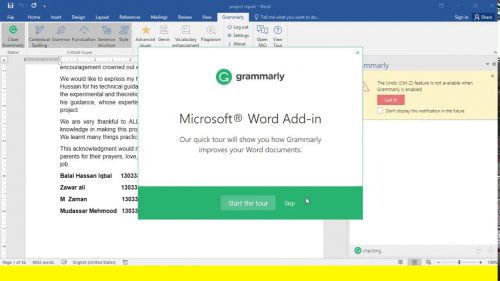 Grammarly for MS Office 6.8.236 Crack + Registration Code Free - [MacOs]